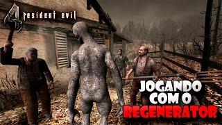 Resident Evil 4 - REGENERATOR no Modo História (ATÉ ZERAR???)