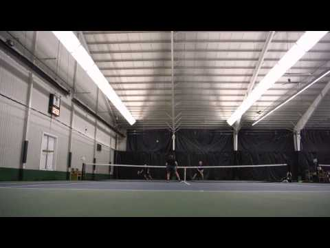 Doubles Tennis Match with Steve/Lloyd