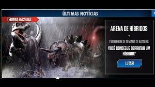 Jurassic World - The Game - Hybrids Arena (Arena de Híbridos)