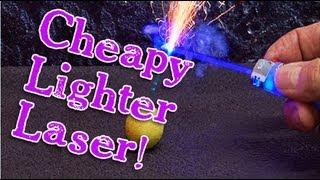 Amazing Cheapy Lighter Laser Burner!