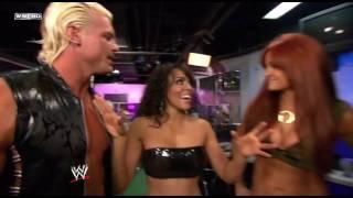getlinkyoutube.com-Layla, Maria, & Eve Backstage making fun of Dolph Ziggler