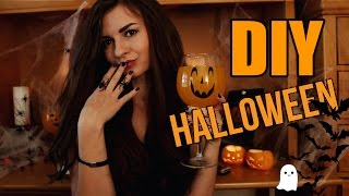 getlinkyoutube.com-DIY Halloween l Декор и Угощения на Хеллоуин Своими Руками