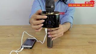 Test micro karaoke kèm loa bluetooth Magic Sing MP-30 chính hãng, âm thanh cực hay
