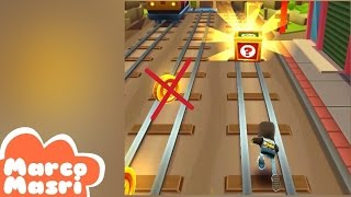 Subway Surfers: Run without collecting coins challenge