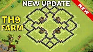 getlinkyoutube.com-NEW Update TH9 FARMING BASE Town Hall 9 | New TH11 December Update | Clash of Clans