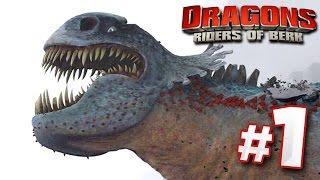 Taming Dragons! | DRAGONS : Rise Of Berk - Ep1 HD