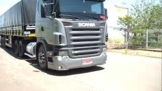 getlinkyoutube.com-Scania G380 escapamento DIRETAO