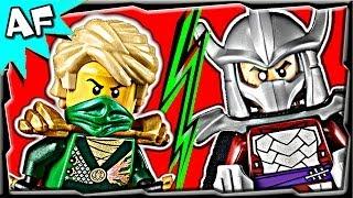 getlinkyoutube.com-Ninjago LLOYD vs SHREDDER TMNT - Lego Crossover Battle #6