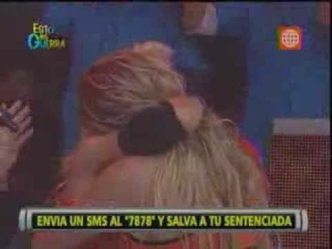 Esto es Guerra: 'Cachaza' llora tras perder ante Michelle Soifer - 01/08/2013