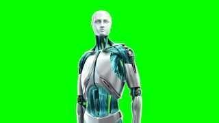 getlinkyoutube.com-robot man green screen