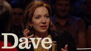 getlinkyoutube.com-Katherine Parkinson Is Banned From Saturday Kitchen   Alan Davies: As Yet Untitled   Dave