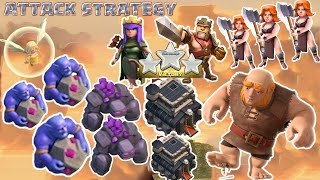 getlinkyoutube.com-Coc Th9 attack strategy New Combo 2016, 2017. Town Hall 9 3 Star Clash of Clans