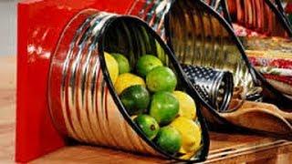 getlinkyoutube.com-Manualidades con latas vacias ideas faciles y originales para renovar tu casa