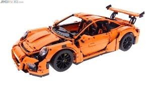 getlinkyoutube.com-LEGO Technic Porsche 911 GT3 RS review! 42056