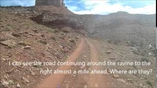 getlinkyoutube.com-Canyonlands White Rim Road starting from Moab on Dirt Bikes