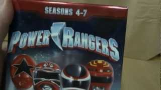 getlinkyoutube.com-Power Rangers Seasons 4-7 DVD Unboxing