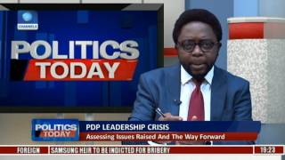 PDP Leadership Crisis: Sheriff Resumes Duty At National Office Pt. 2