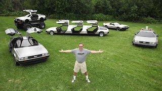 getlinkyoutube.com-Man Transforms 'Back To The Future' Cars Into Bizarre Creations