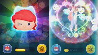 getlinkyoutube.com-ツムツム 『ロマンスアリエル』 強いぞー! Romance Ariel LINE: Disney Tsum Tsum