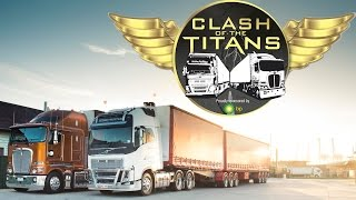 getlinkyoutube.com-Kenworth vs Volvo Part One | Clash of the Titans | Truck TV Australia