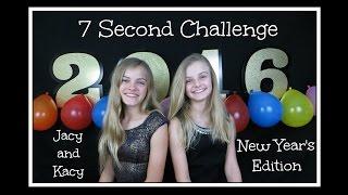 getlinkyoutube.com-7 Second Challenge ~ New Years Edition ~ Jacy and Kacy