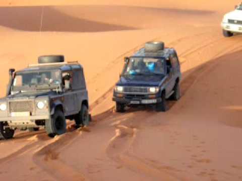 A Malta dos Jipes nas dunas de Erg Chebi - Marrocos 2009 (1ª parte)