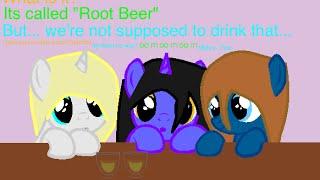 {REQUEST} Uh-oh Root Beer! {MLP Minecraft Diaries speedpaint}