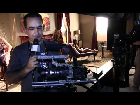 NAB 2012 - SONY FS700 cámara super 35mm 4k