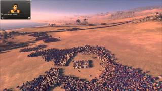 "getlinkyoutube.com-Total War: Rome 2 - Massive Battles - ""1000 Spartans vs. 20,000 Eastern Spearmen"""