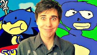 getlinkyoutube.com-Après Sonic.EXE, voici Sunky.MPEG et Sanic.EXE !