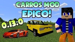 getlinkyoutube.com-Carros Mod | Minecraft PE | 0.13.0 | Español