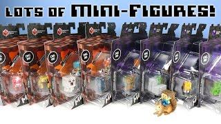 getlinkyoutube.com-Minecraft Mini-Figures Netherrack Series 3 & Obsidian Series 4 Dig In Packs