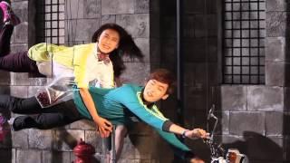 getlinkyoutube.com-Lee Jong Suk and Ha Ji Won: ASICS 2013 F/W G1 [Cherry Pin k k k] Making Film