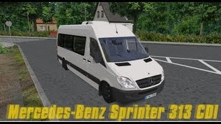 getlinkyoutube.com-Omsi-Mercedes-Benz Sprinter 313 CDI