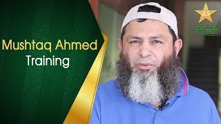 Mushtaq Ahmed Giving Bowling Tips | Leg spin | Top spin | Googly | PCB