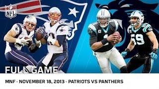 getlinkyoutube.com-Cam Newton Beats Tom Brady | Patriots vs. Panthers (Week 11, 2013) | NFL Full Game