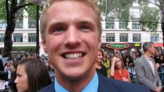 Freddie Stroma at the London Premiere of Harry Potter and the Half-Blood Prince Pt.1