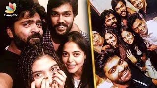 Str's Party Time with Bigg Boss Team   Oviya, Aarav, gayathri   Hot Tamil Cinema News