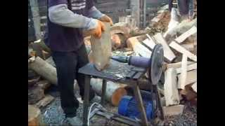 getlinkyoutube.com-Masina de crepat lemne