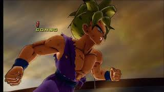 getlinkyoutube.com-Dragonball Z Ultimate Tenkaichi - Z Fighters vs Broly (Super Swap Fight)