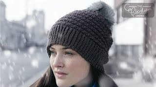 How to Crochet A Hat: 5 Star Beanie