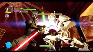 getlinkyoutube.com-Disney Infinity 3.0 Star Wars - Darth Maul vs General Grievous