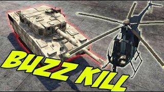 getlinkyoutube.com-Buzzard VS Tank (GTA 5)