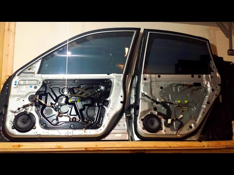 2006 Infiniti M. Front Window Motor & Regulator removal - The quick and easy way