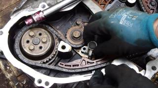 getlinkyoutube.com-How to do timing chain tensioner check and replace GM ecotech engine