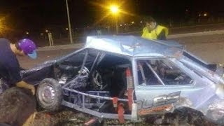 getlinkyoutube.com-Accidente espectacular en picadas de Corrientes..