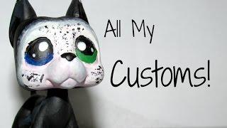 getlinkyoutube.com-LPS~All My LPS Customs {Updated}