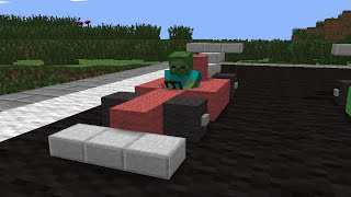 getlinkyoutube.com-Monster School: Racing - Minecraft Animation