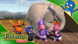 getlinkyoutube.com-The Backyardigans: Elephant on the Run - Ep.74