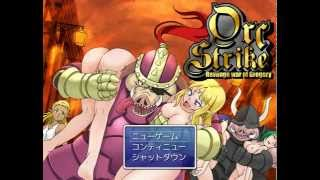 "getlinkyoutube.com-Review [H-Game]: Orc Strike ""Revenge War of Gregory"""